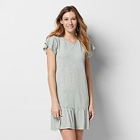 Women's SONOMA Goods for Life™ Flounce T-Shirt Dress