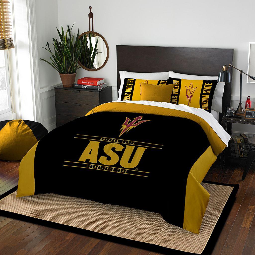 Arizona State Sun Devils Modern Take Full/Queen Comforter Set by Northwest