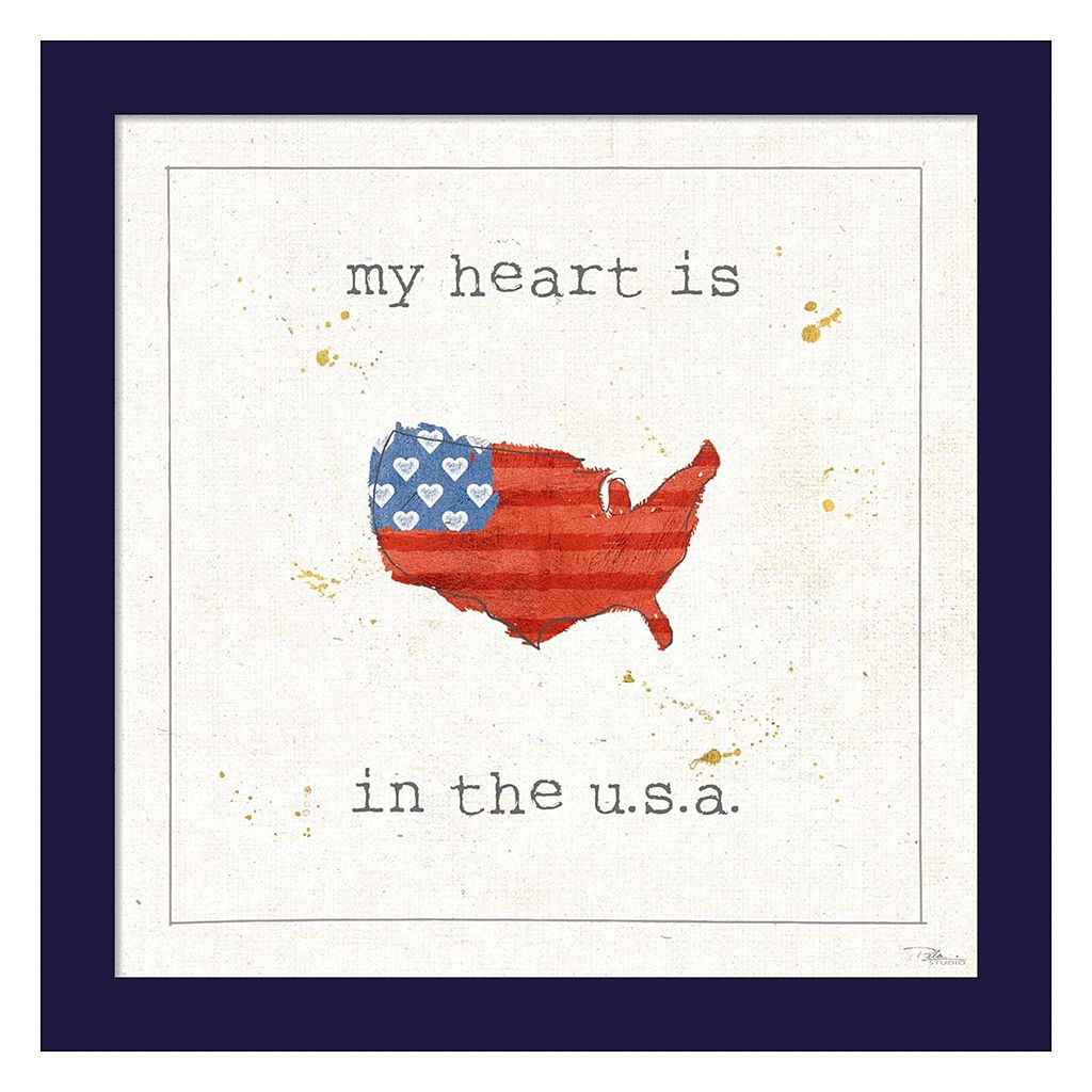 Metaverse Art USA Cuties II Framed Wall Art