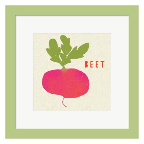 Metaverse Art Summer Vegetable I Framed Wall Art