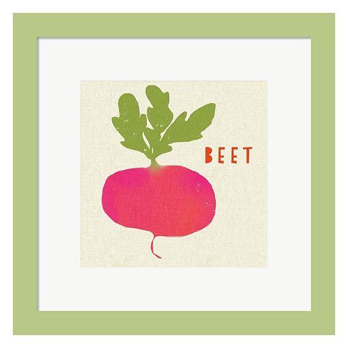Metaverse Art Summer Vegetable I Framed Wall Art
