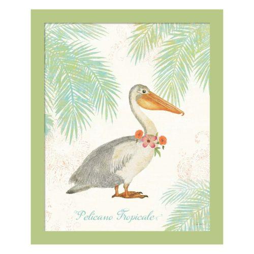 Metaverse Art Flamingo Tropica...