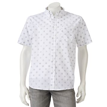 Men's Star Wars Trooper Polka Dot Button-Down Shirt