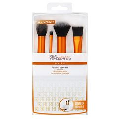 Real Techniques 4 pc Flawless Base Brush Set