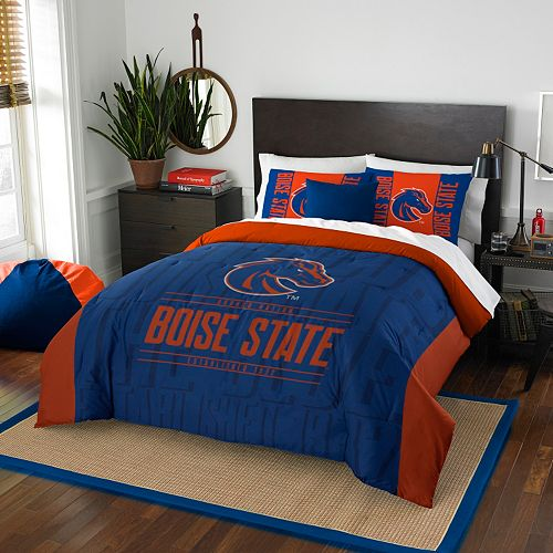 Boise State Broncos Modern Take Full/Queen Comforter Set by Northwest