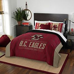 Boston College Eagles Modern Take Full/Queen Comforter Set by Northwest