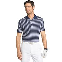 Men's IZOD Classic-Fit Striped Stretch Performance Golf Polo