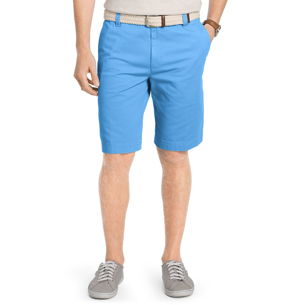 Men's IZOD Flat-Front Chino Shorts