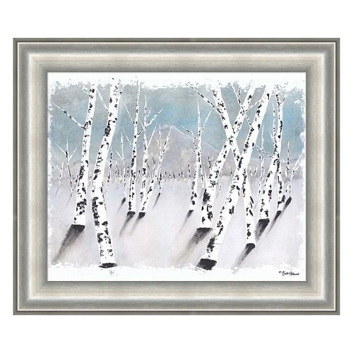 Metaverse Art Dreaming Of Aspen Framed Wall Art