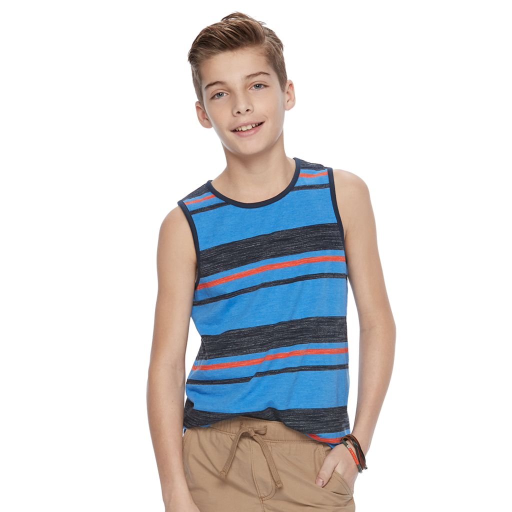 Boys 8-20 Urban Pipeline® Ultimate Striped Tank