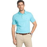 Men's IZOD Interlock Grid Polo