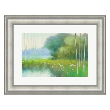 Metaverse Art Spring Midst Framed Wall Art
