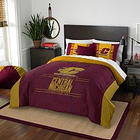 Central Michigan Chippewas Modern Take Full/Queen Comforter Set by Northwest