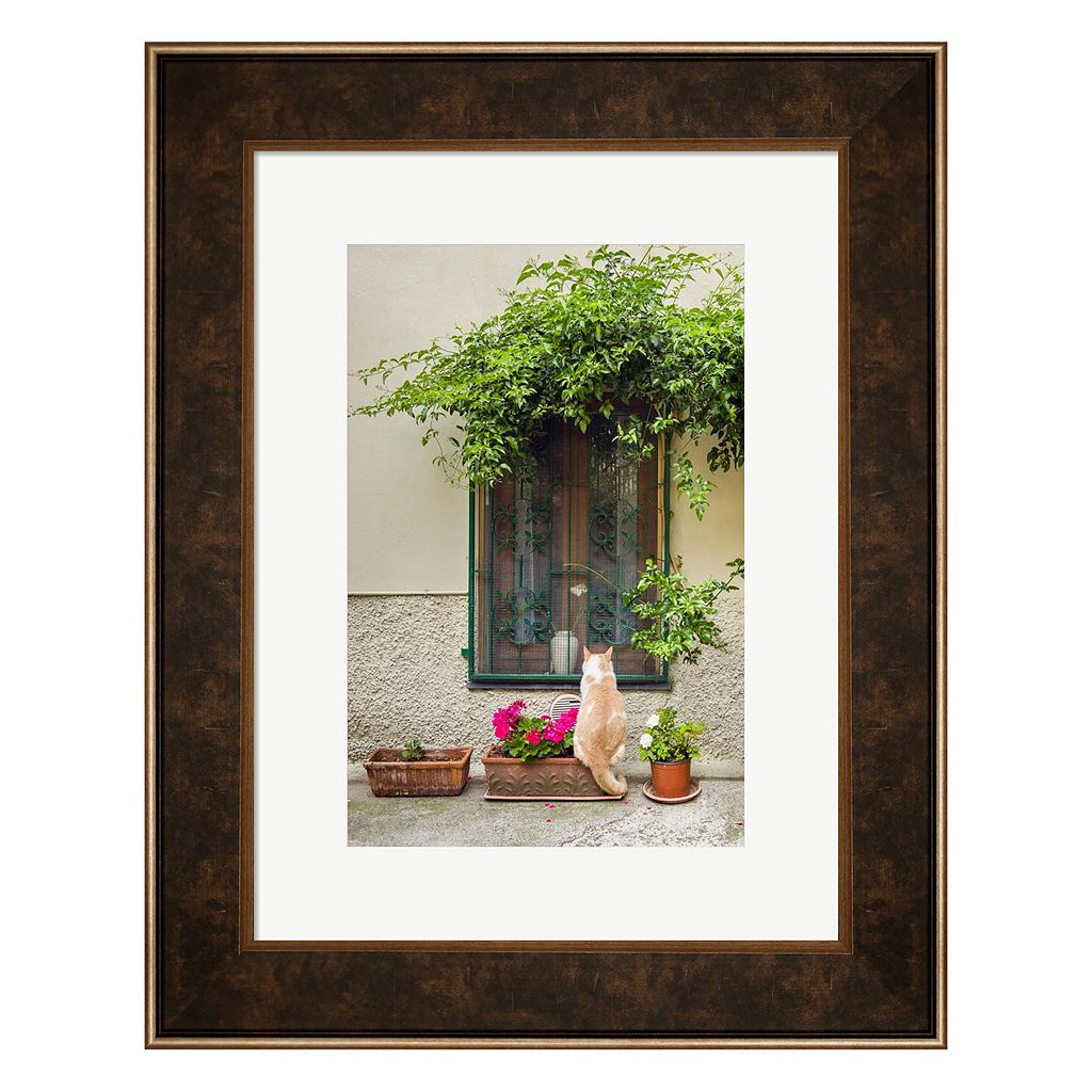 Metaverse Art Maurice The Cat Framed Wall Art