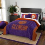 Clemson Tigers Modern Take Full/Queen Comforter Set by Northwest