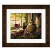 Metaverse Art Wine By The Window I Framed Wall Art