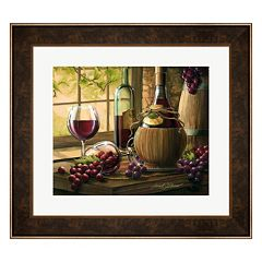 Metaverse Art Wine By The Window I Framed Wall Art