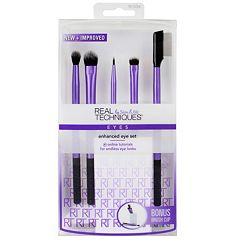 Real Techniques 5 pc Enhanced Eye Brush Set