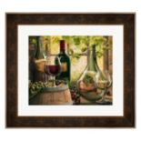 Metaverse Art Wine By The Window II Framed Wall Art