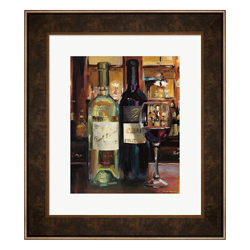Metaverse Art A Reflection of Wine II Framed Wall Art