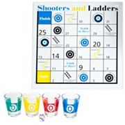 Trademark Games Shooters & Ladders Drinking Game Set