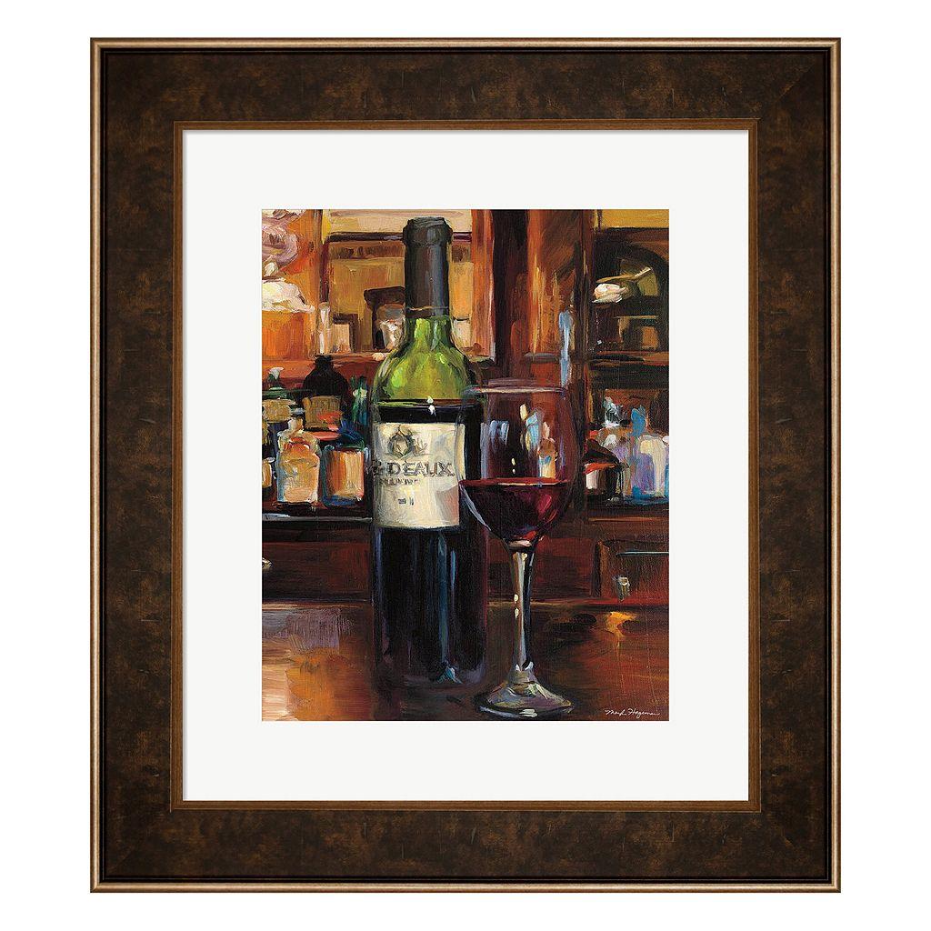 Metaverse Art A Reflection of Wine III Framed Wall Art