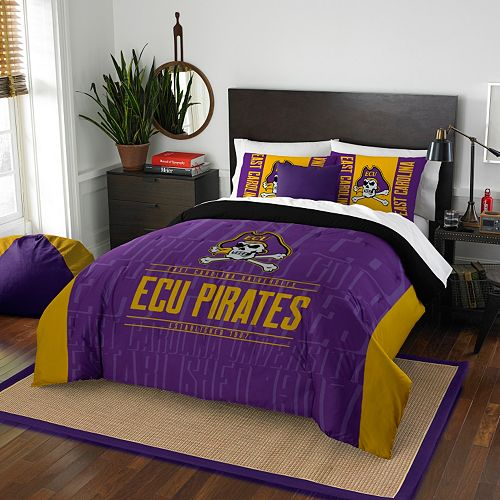 East Carolina Pirates Modern Take Full/Queen Comforter Set by Northwest