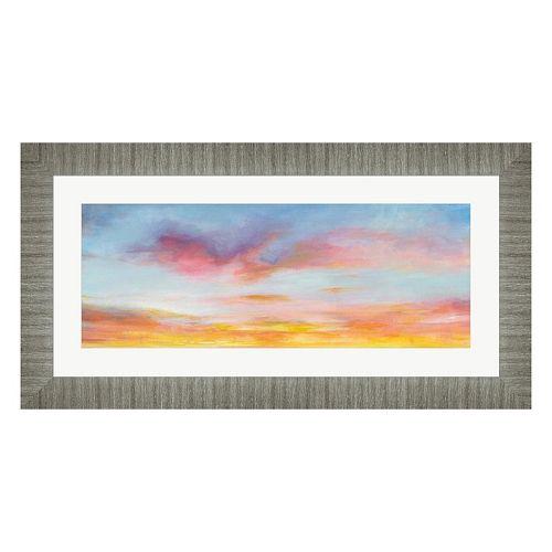 Metaverse Art Pastel Sky Framed Wall Art