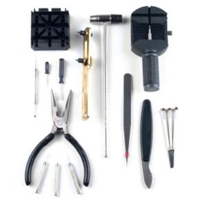 Stalwart 16-Piece Professional Watch Repair Tool Kit