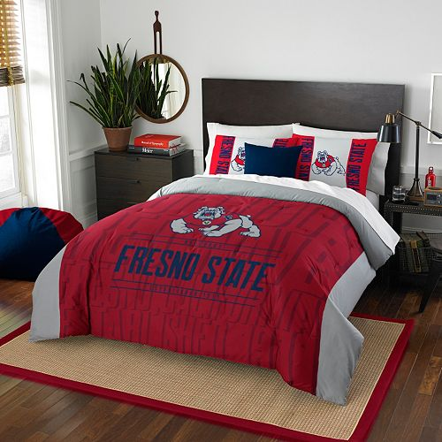 Fresno State Bulldogs Modern Take Full/Queen Comforter Set by Northwest