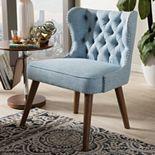 Baxton Studio Scarlett Mid-Century Modern Accent Chair