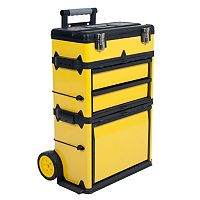 Stalwart Mobile Stacking Portable Tool Box