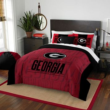 Georgia Bulldogs Modern Take Full/Queen Comforter Set by Northwest
