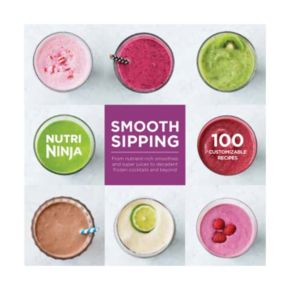 Nutri Ninja Smooth Sipping 100 Recipe Book