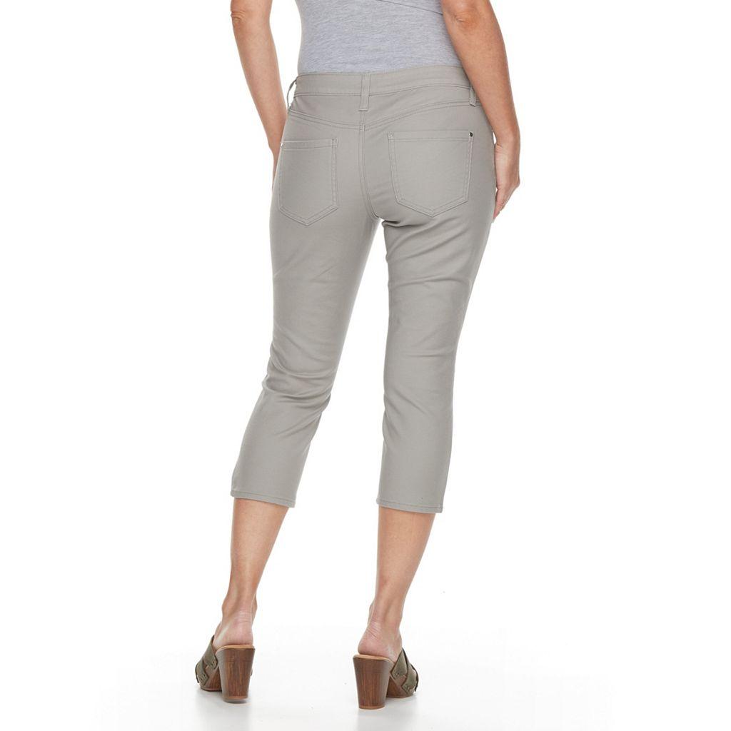Petite Apt. 9® Modern Fit Skinny Capris