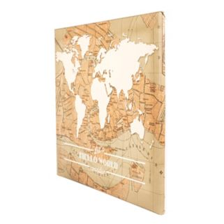 Cathy's Concepts Travel the World Canvas Wall Art