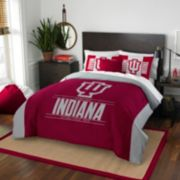 Indiana Hoosiers Modern Take Full/Queen Comforter Set by Northwest