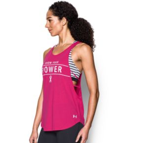 Women's Under Armour Power in Pink Show Your Power Strappy Tank