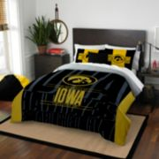 Iowa Hawkeyes Modern Take Full/Queen Comforter Set by Northwest