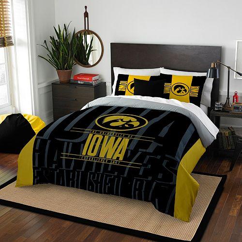 Iowa Hawkeyes Modern Take Full/Queen Comforter Set by Northwest