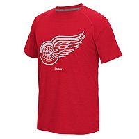 Men's Reebok Detroit Red Wings Emblem Tee
