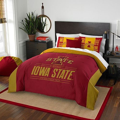 Iowa State Cyclones Modern Take Full/Queen Comforter Set by Northwest