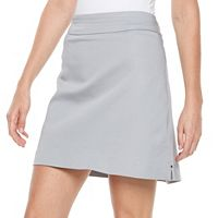 Women's Croft & Barrow Polished Twill Skort