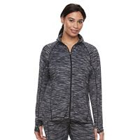 Plus Size Tek Gear® Performance Full-Zip Jacket