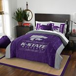 Kansas State Wildcats Modern Take Full/Queen Comforter Set by Northwest