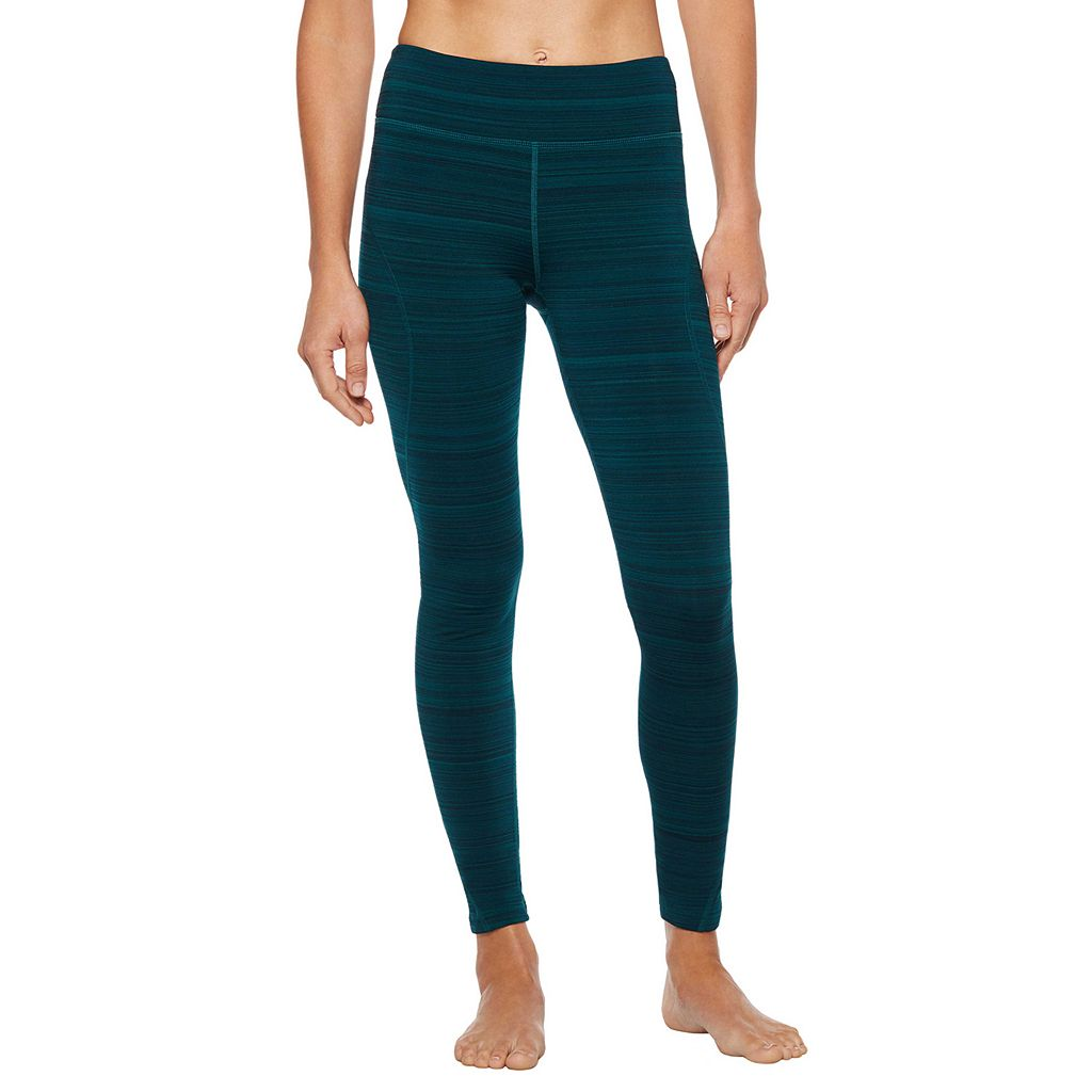Women's Shape Active Barcode Workout Leggings