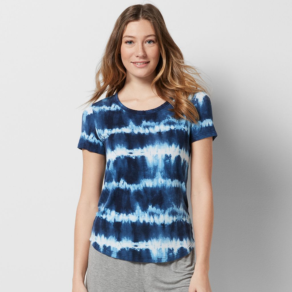 Women's SONOMA Goods for Life™ Everyday Essential Tie-Dye Lounge Tee
