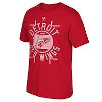 Men's Reebok Detroit Red Wings Skate the Circles Tee