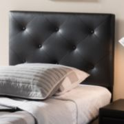 Baxton Studio Baltimore Faux Leather Twin Headboard