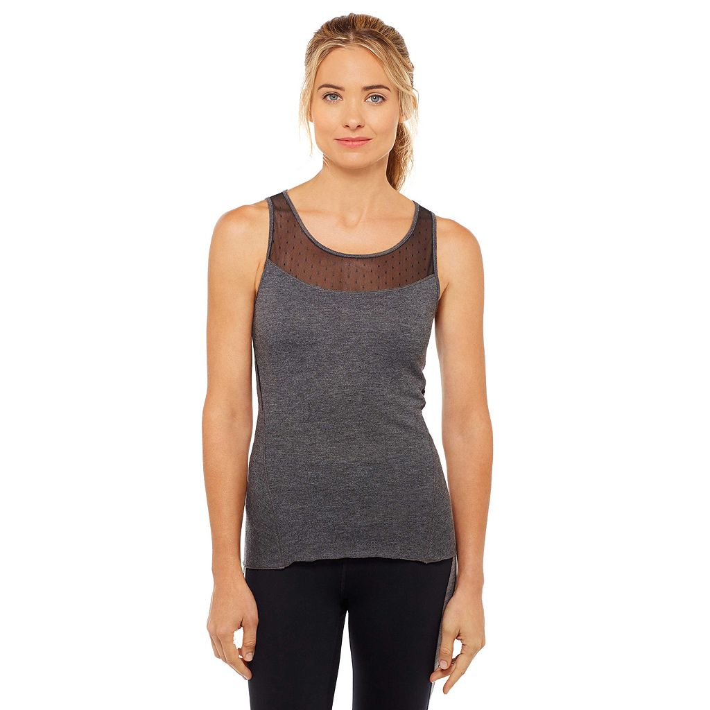 Women's Shape Active Charcoal Barre Workout Tank